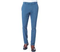 Herren Hose Chino Baumwoll-Stretch tintenblau