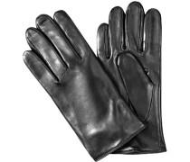Herren Handschuhe, Schafnappa, schwarz
