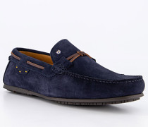 Schuhe Mokassins, Nubukleder wasserabweisend