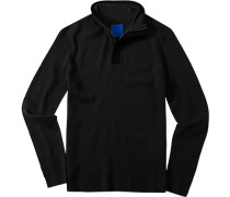 Herren Pullover Troyerbr>Woll-Mix