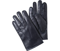 Herren Handschuhe Lammleder nacht