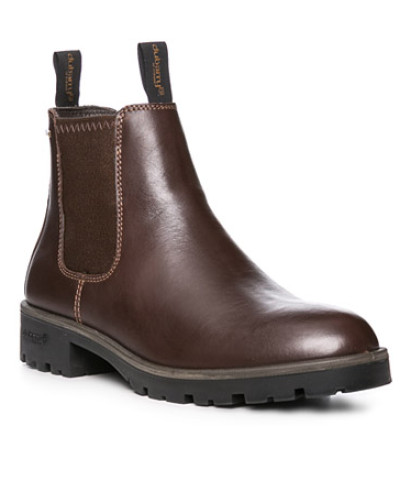 Schuhe Chelsea Boots, Leder GORE-TEX, kastanien