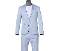 Sakko Cilento Slim Fit Baumwoll-Stretch hell