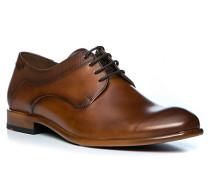 Schuhe Derby Medan Kalbleder cognac