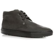 Herren Schuhe Desert Boots Nubukleder anthrazit grau