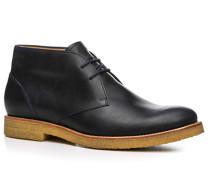 Herren Schuhe Desert Boot, Leder, nachtblau