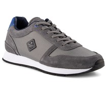 Schuhe Sneaker Veloursleder taupe