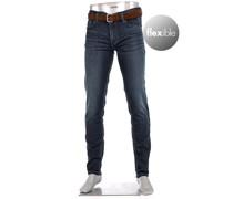 Jeans Pipe, Regular Fit, Baumwoll-Stretch 9oz