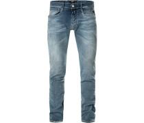 Jeans Anbass Slim Fit Baumwoll-Stretch jeans