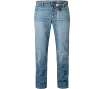 Jeans Regular Fit Baumwoll-Stretch indigo