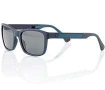 Herren Brillen Strellson Klappsonnenbrille Kunststoff blau