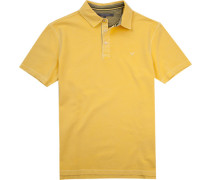 Herren Polo-Shirt Baumwoll-Piqué gelb