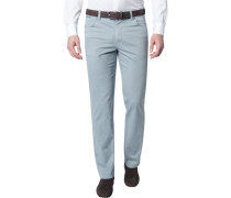 Herren Jeans Contemporary Fit Baumwoll-Stretch grau meliert