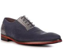Schuhe Oxford Kalbleder dunkel