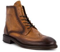 Schuhe Stiefeletten mit Reißverschluss, Leder
