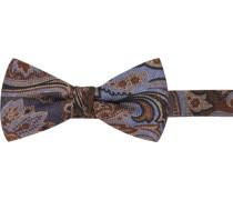 Krawatte Schleife Wolle -braun gemustert