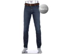 Jeans Pipe, Regular Slim Fit, Baumwoll-Stretch 10oz