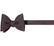 Krawatte Schleife Wolle burgund