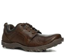 Herren Schuhe Sneaker Rindleder dunkelbraun