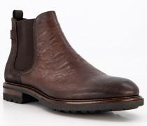 Schuhe Chelsea Boots Leder legno