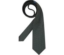 Herren Krawatte  grün