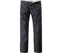 Herren Jeans, Regular Fit, Baumwolle 13 oz, denim blau