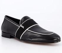 Schuhe Slipper Leder