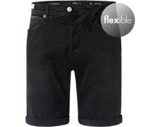 Jeansshorts, Baumwoll-Stretch Hyperflex