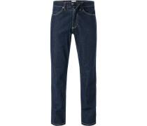 Jeans Tramper Baumwoll-Stretch indigo