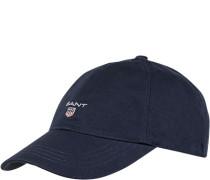Herren GANT Cap Baumwolle marineblau