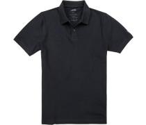Herren Polo-Shirt, Baumwolle, dunkelblau