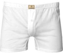 Herren Unterwäsche Boxershort Baumwolle weiß
