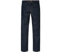 Herren Jeans Regular Fit Baumwoll-Stretch nachtblau