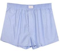 Herren Unterwäsche Boxer-Shorts Fil-à-Fil bleu