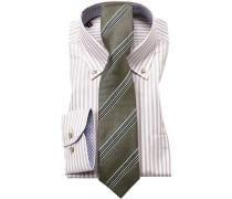 Herren Hemd mit Krawatte beige
