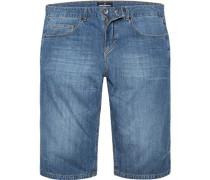Herren Bermudas Baumwolle jeans