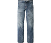Herren Jeans Slim Fit Baumwolle denim