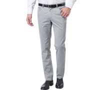 Herren Jeans Seth, Tailored Fit, Baumwoll-Stretch, grau
