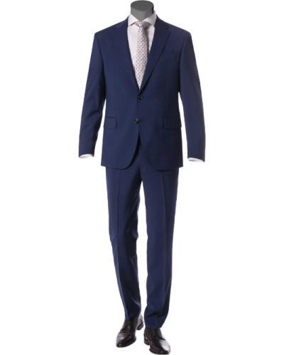 Anzug, Comfort Fit, Schurwolle, dunkel