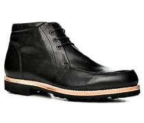 Herren Schuhe Norweger Kalbleder schwarz schwarz,braun