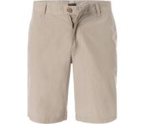 Hose Shorts Baumwolle sand