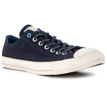 Schuhe Sneaker Veloursleder dunkel
