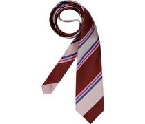 Herren Krawatte rot