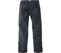 Herren Jeans 5-Pocket Baumwolle marine blau