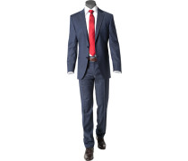 Anzug Modern Fit Schurwolle Super120 dunkel
