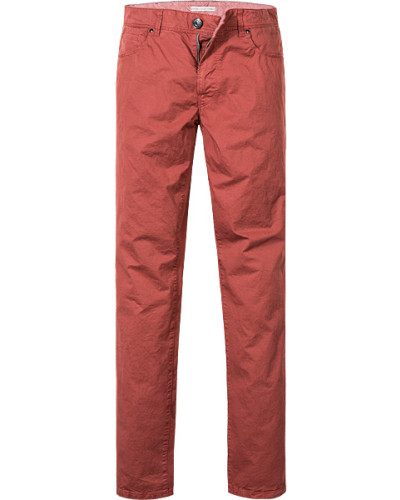 Jeans, Classic Fit, Baumwolle-Stretch, rost