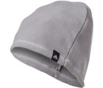 Herren Mütze, Microfaser, grau