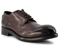 Schuhe Derby Kalbleder marone