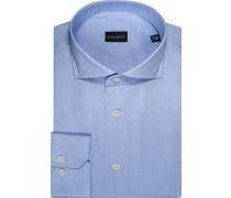 Herren Hemd Regular Fit, Baumwolle, hellblau
