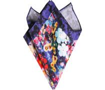 Herren Accessoires Einstecktuch Seide-Baumwolle multicolor